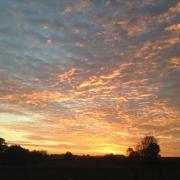 Gite nord les prairies maresches lever de soleil